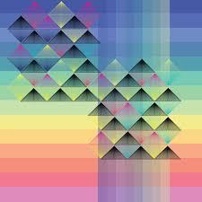 Spectrum Graphic Design Diamond Sunset Spectrum Wall Art Graphic Design