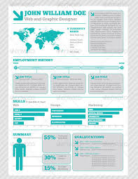 Modern Graphic Resume Template 30 Infographic Resume Templates Download Free Premium
