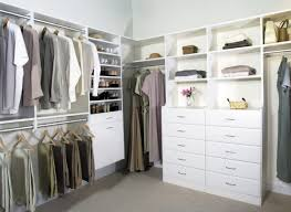 walk in hanging closet organizer with drawers