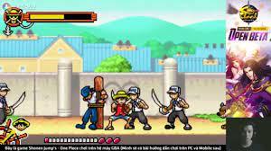 Shonen Jump's - One Piece game chơi trên hệ máy GBA - YouTube