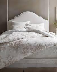 Pure Cotton Sham - Garnet Hill & Toile Floral Cotton Flannel Sham Adamdwight.com