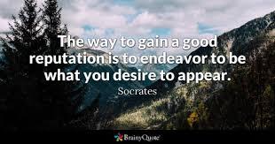 Reputation Quotes