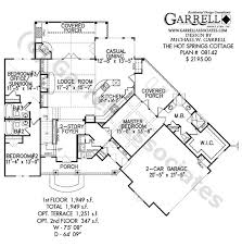 161 best cabin house images on pinterest small house plans Small House Plans With Wrap Around Porch hot springs cottage house plan 08142, 1st floor plan, mountain style house plans, small house plans with wraparound porches