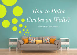 Painting circles and dots on the walls can seem to be an easy DIY choice of  decoration, but you cannot carry out this task successfully and accurately  ...