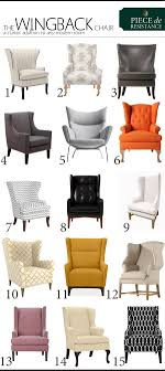 modern wing chairs. A-wingback-for-every-style Modern Wing Chairs .