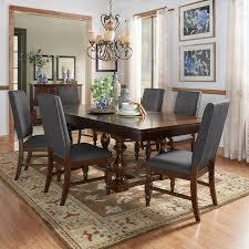 tribecca home flatiron baer extending dining set