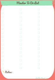 Oh I Got This Free Printable Planner Master To Do And Shopping Lists