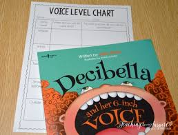 Decibella Voice Chart Back To School Read Alouds For Upper Elementary Free