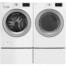 kenmore elite washer and dryer white. kenmore 4.5 cu. ft. front-load washer \u0026 7.3 elite and dryer white f