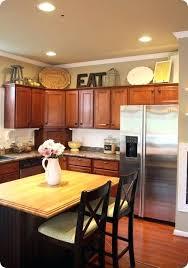 Above Kitchen Cabinet Decorations Best Inspiration Ideas