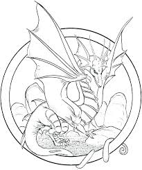 Realistic Dragon Coloring Pages Real Page Fire Breathing Printable