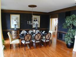 goshen ridge model home traditional dining room