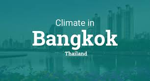 Bangkok Climate Chart Climate Weather Averages In Bangkok Thailand