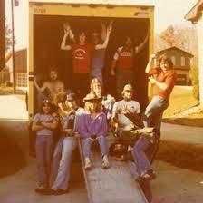 R Brett Hart - Bass - Road Crew: First row--Bernie McClure ...