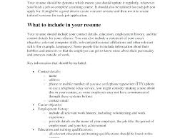 Build A Resume Free Online