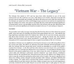 i think that the four most significant themes in the vietnam war  document image preview