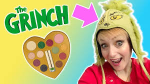 grinch grinchmakeup makeuptutorial