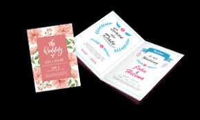 Online Print Invitations Affordable Wedding Invitation Printing In Singapore Gogoprint