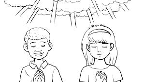 prayer coloring pages boy praying coloring page free children to print kids praying coloring pages free