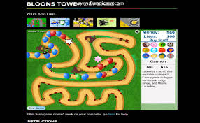 Coolmath Games Bloons Tower Defense Youtube