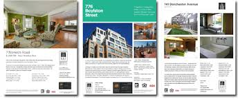home for sale marketing flyers and hand outs real estate brochure templates free download thomas brochures