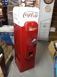 Coke Bottle Vending Machine Fascinating Original Vmc 48 Cocacola Coke Bottle Vending Machine Not Vendo