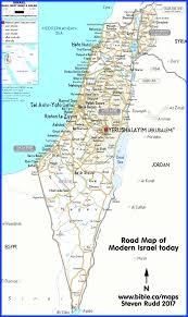 bible maps palestine today