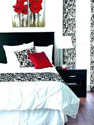 red black and white bedroom paint ideas – vicdana.info