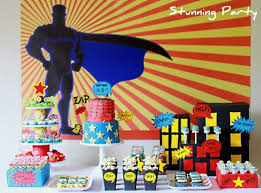 41 Superhero Birthday Party Supplies Games Decorations And Ideas