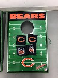 bean bags chicago bears bean bag toss bears tagate bean bag toss boards sport game