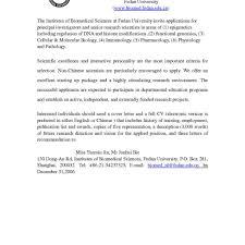 10 Application Letter For Teacher Job Texas Tech Rehab