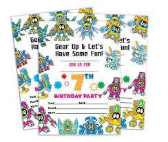 B Day Invitation Cards Birthday Invitation Card 28 Pcs Blank Invites Printable