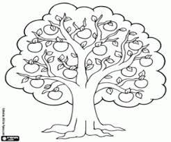 Kleurplaat Appelboom Kleurplaten