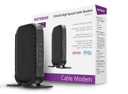 amazon com netgear docsis 3 0 340mbps cable modem for xfinity amazon com netgear docsis 3 0 340mbps cable modem for xfinity time warner spectrum cable cox charter cablevision cm400 1aznas computers