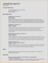 Accounting Resume Template Lovely Accounting Resume Template