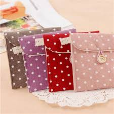 whole cotton linen case cosmetic small makeup tool bag storage pouch purse travel 2017 new dot