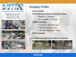 powerpoint company presentation vma company powerpoint presentation
