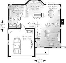 bungalow floor plans. Bungalow House Plan First Floor - 032D-0245 | Plans And More