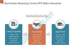 Real Estate Marketing Plan Awesome Real Estate Marketing Tactics Ppt Slides Download PowerPoint Slide