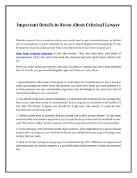 what does extensive experience mean new york criminal attorney by campbellchrisei issuu