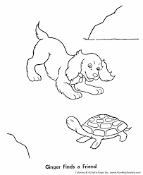 Small Picture Pet Turtle Coloring Pages Free Printable Pet Coloring Pages and