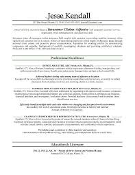 Staff Adjuster Sample Resume Magnificent Field Adjuster Sample Resume Colbroco
