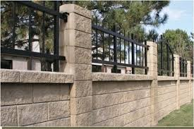 Small Picture Block Wall Fencing Phoenix