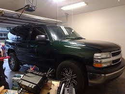 having low voltage on my 2001 chevy tahoe after installing led lights