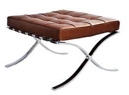 Barcelona Leather Bench Mies Van Der Rohe Replica