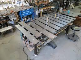 standard duty welding table critique my plan