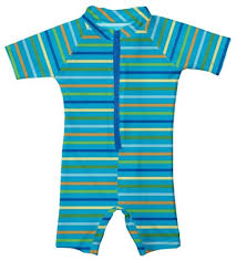 Iplay Swim Shoes Size Chart Toddler Baby Boy One Piece Zip Striped Sunsuit By Iplay
