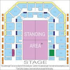 george ezra seating plan at flydsa arena