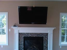 fireplace tv over fireplace mantel design ideas modern fancy on home improvement tv over fireplace