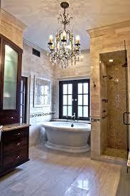 appealing bathroom chandeliers crystal and chandelier